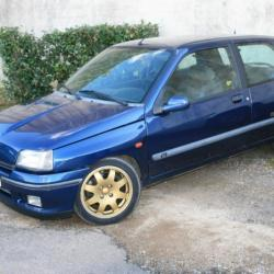 La Clio Williams de Didier