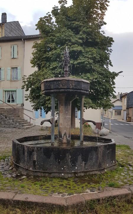 La fontaine des Pisseurs à Lacaune